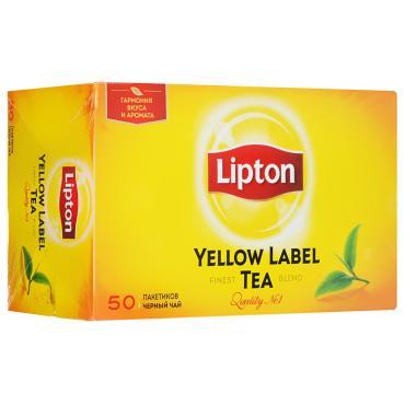 Чай Lipton Yellow label 50 пак