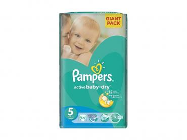 Подгузники Pampers Active Baby-Dry Junior 11-18 кг