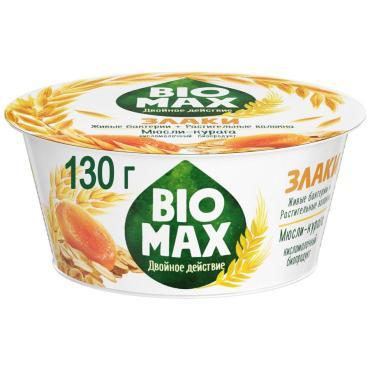 Биопродукт кисломолочный Мюсли-курага 1,9%, Bio Max, 130 гр, ПЭТ