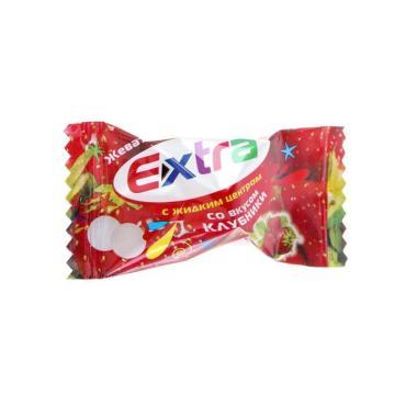 Жевательная резинка Extra Клубника