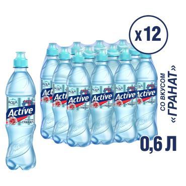 Напиток Aqua Minerale Active Гранат