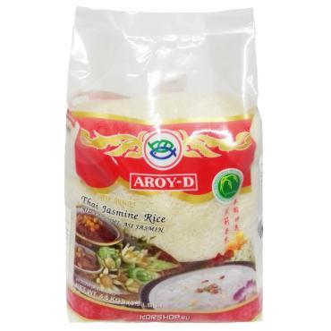 Рис  Жасмин Aroy-D Тайский белый шлифованный, сорт экстра