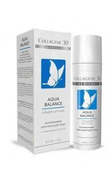 Гель-маска для лица Medical Collagene 3D Aqua Balance с гиалуроновой кислотой