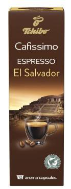 Кофе Cafissimo Espresso El Salvador в капсулах 10 шт