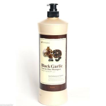 Шампунь-кондиционер Lunaris Black Garlic Two In One Shampoo Для поврежденных волос