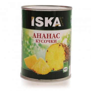 Ананасы Iska В сиропе кусочки