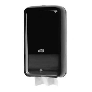 Диспенсер для листовой туалетной бумаги,черный, 1/12 T3 Tork Elevation, 1,02 кг., картонная коробка