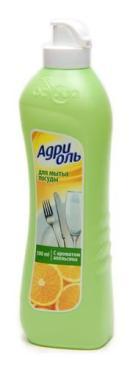 Средство для посуды дыня Адриоль 500 мл.,Пластиковая бутылка