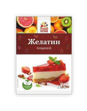 Желатин пищевой Отличная Кухня, 10 гр., Бумажная упаковка