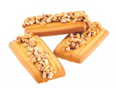 Печенье Подлиза сгущёнка\орех, Петрокондитер, 4 кг., картонный короб с прозрачным экраном