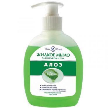 Мыло для тела и волос Невская Косметика Алоэ, 300 мл., пластиковая банка