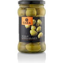 Оливки Gaea зеленые с косточкой