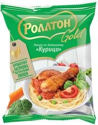 Лапша Роллтон Gold по-домашнему куриная