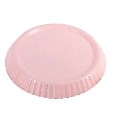 Форма для выпечки Доляна Флёри Рифленый круг 24x3,5 см. антипригарное покрытие