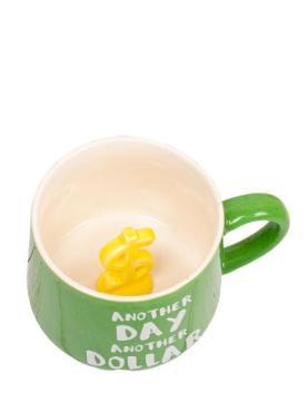 Чашка с фигуркой внутри , Еще один день, еще доллар, MiniHome