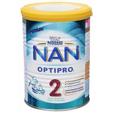Сухая смесь Nestle Nan Optipro 2 Премиум с бифидобактериями с 6 месяцев