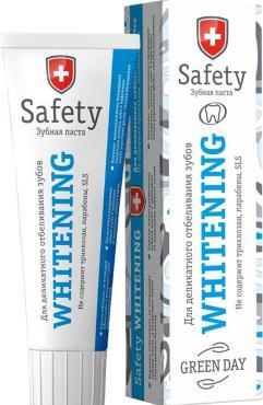 Зубная паста Green day Safety Whitening Для деликатного отбеливания зубов