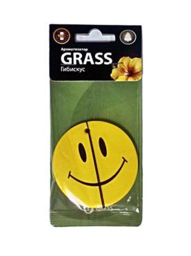 Ароматизатор картонный Grass Гибискус Smile