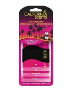 Освежитель для автомобиля California Scents Вишня Коронадо, 10 гр., пластиковая упаковка