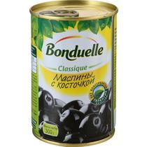 Маслины Bonduelle с косточкой, 314 гр., ж/б