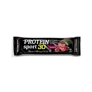 Батончик Protein Sport Effort вишня