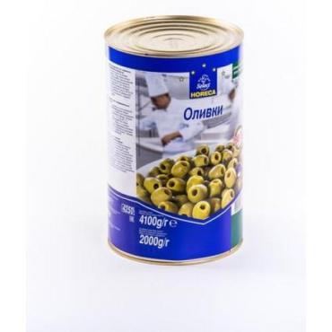 Оливки Horeca Select зеленые без косточки