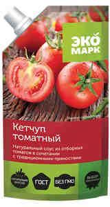 Кетчуп ЭКОМАРК Томатный