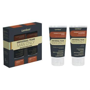 Набор №1290 Universal Team (Универсальный крем + шампунь для волос и тела), Compliment, 400 мл., Картонная коробка