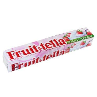 Жевaтельные конфеты Fruittella Клубничный йогурт