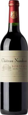 Вино Шато Нодо / Chateau Naudeau,  Мерло, Каберне Совиньон,  Красное Сухое, Франция