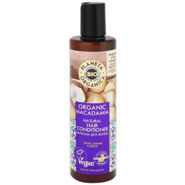 Бальзам Planeta Organica для волос натуральный Organic Macadamia