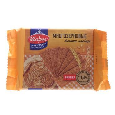 Хлебцы многозерновые Щедрые тонкие
