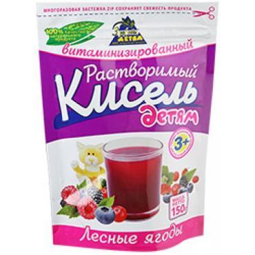 Кисель Лесные ягоды Здоровье Детям, 150 гр., дой-пак