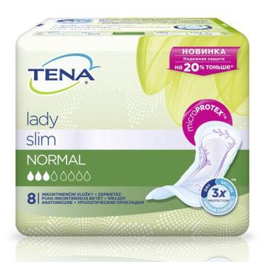 Прокладки урологические Tena Lady Normal 8шт.