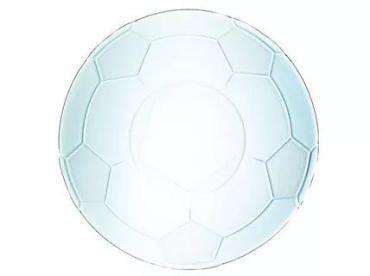 Тарелка для пиццы 31 см., Футбол, Фут Пати ЧМ по 16 шт.