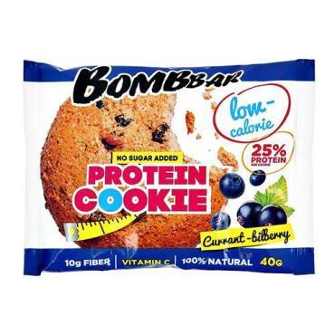 Печенье Bombbar протеиновое низкокалорийное Смородина черника