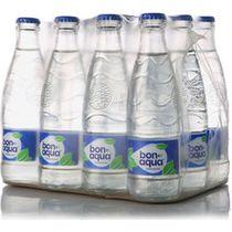 Вода минеральная BonAqua питьевая газированная столовая   0,33 л.