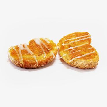 Печенье слойка с лимонной пропиткой, Лилия Берлинское, 2 кг., картонная коробка