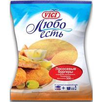 ЛОСОСЕВЫЕ БУРГЕРЫ VICI 500Г