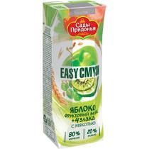 Сок Easy Смузи Сады Придонья Яблоко киви виноград лимон с мякотью и злаками