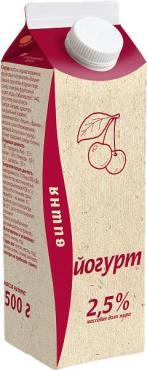 Йогурт Торжок с вишней 2,5%