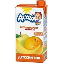 Сок Агуша Мультифрукт с 3-х лет