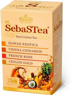 Чай черный sebaSTea Ассорти №1 20 пакетов