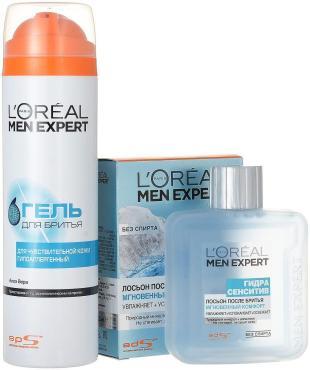 Пена L'Oreal Paris Men Expert для бритья + Лосьон L'Oreal Paris Men Expert после бритья