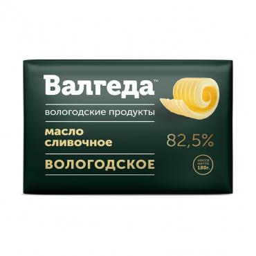 Масло Валгеда Вологодское 82,5%