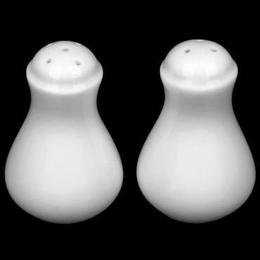 Набор для специй Wilmax England керамика белый 2 шт. солонка перечница