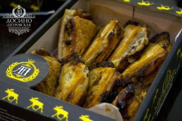 Печенье Лосино-Петровская кондитерская компания Лакомкин со вкусом творога