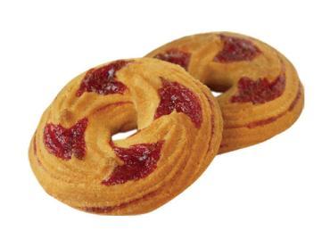 Сдоба Слоянка бисквитная с конфитюром микс