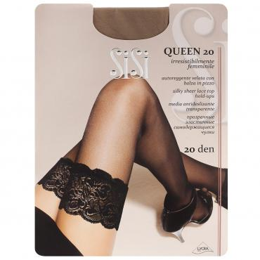 Чулки 20 Miele 4, Sisi Queen, 60 гр., пластиковый пакет