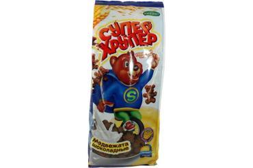 Готовые завтраки Кунцево Супер Хрупер Медвежата шоколадные